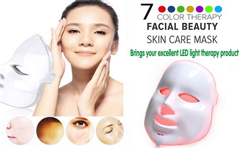 Amazon.com : Angel Kiss LED Face Mask - Photon Red Light