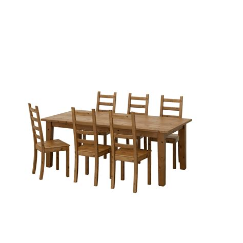 ikea dining table and chairs kaustby stornäs table and 6 chairs antique stain 201 cm ikea