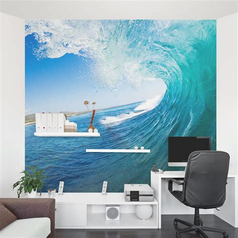 Ocean Wave Wall Mural  Ocean Wallpaper Mural  Wallums. Motorcycle Rider Decals. Flathead Decals. Well Designed Signs. Deep Water Signs. Kristina Werner Lettering. Color Signs Of Stroke. Insight Stickers. Represented Animal Signs Of Stroke