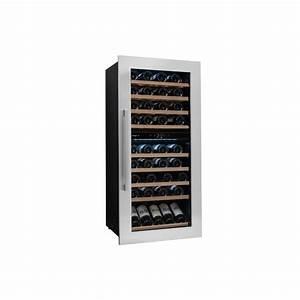 Cave De Service : cave vin de service double compartiment 79 bouteilles ~ Premium-room.com Idées de Décoration
