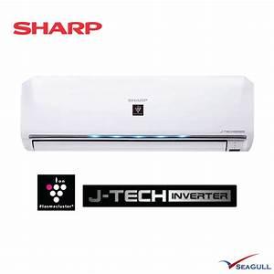 Sharp Premium Inverter Plasmacluster Wall Mounted 1 5hp