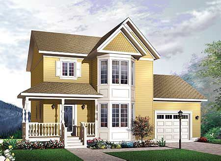 Plan 21546DR: Delightful Traditional Home Plan Country