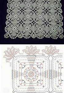 Crochet Doily With Diagram