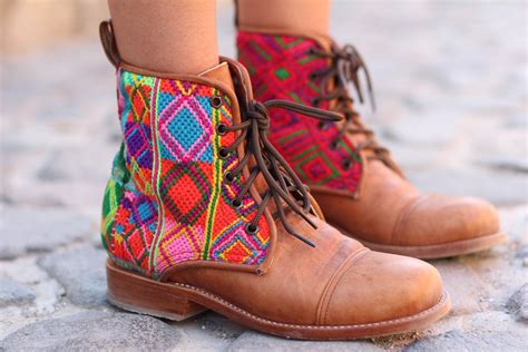 Bring Some Guate Color Into Your Life Teysha Boots