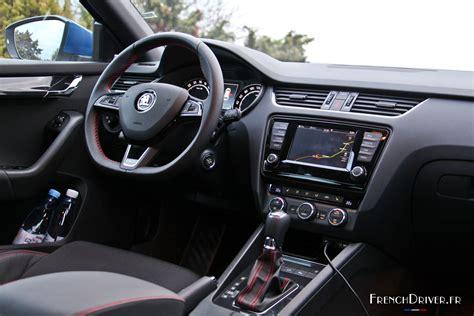 Essai de la nouvelle Škoda Octavia RS : discrète sportive ...