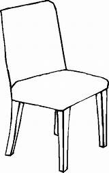Chair Coloring Colouring Clipart Pages Furniture Sheets Child Pencil 05kb Peters Webstockreview Designlooter Table 900px Template sketch template