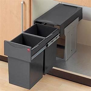 Einbau Mülleimer 2 Fach : einbau abfallsammler tandem 2 fach trennung ab 30 cm ~ Watch28wear.com Haus und Dekorationen