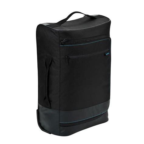valigia compatta  nera newfeel zaini  bagagli