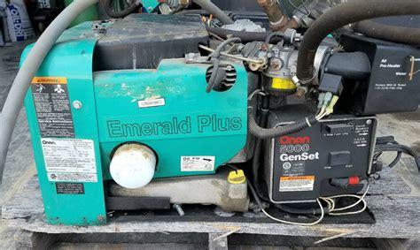 Onan Emerald Plus Genset Propane Gasoline