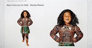 Disney pulls children's Moana costume from online shop ...