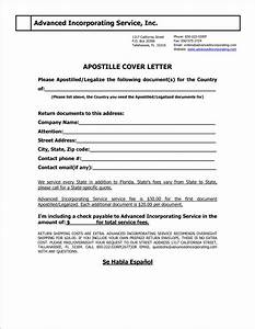capital connection florida apostille cover letter cover With cover letter for apostille california