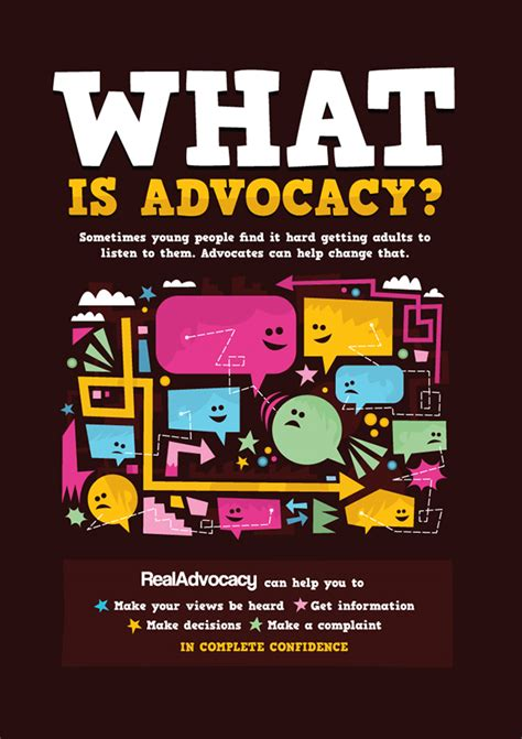 real advocacy graphics  behance