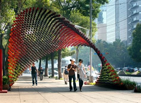 art   nescafe mugs installed  mexico city