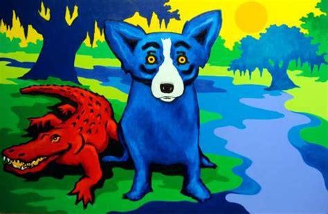 blue dog wallpaper gallery