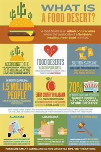 Food Deserts Infographic