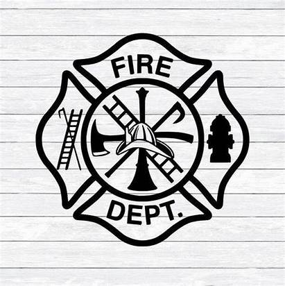 Maltese Firefighter Cross Svg Fireman Fire Department