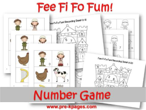 and the beanstalk preschool activities 231 | jack and the beanstalk number game