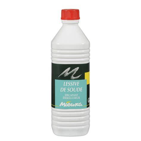 enseigne de cuisine lessive de soude liquide mieuxa 1 l leroy merlin