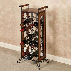 Milano Floor Standing Wine Bottle Rack