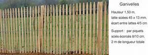 Piquet En Bois Pour Cloture : piquets en bois et cl ture sarl les piquets couardais ~ Farleysfitness.com Idées de Décoration
