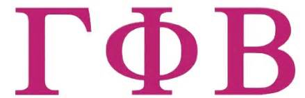 gamma phi beta letters the gamma phi beta γφβ sorority lsu chapter los