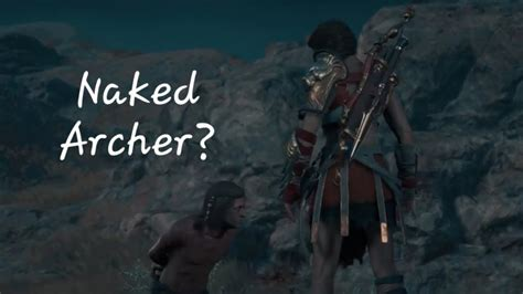 Assassin S Creed Odyssey Explore The Cave And Acquire The Naked Archer S Amulet Bare It All