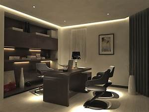 modern-home-office - Alliance Woodworking