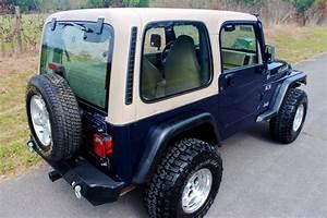 2002 Jeep Wrangler X Tj Hard Top Manual 4 0l 6smoky