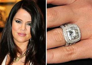 khloe wedding ring 25 most expensive engagement rings