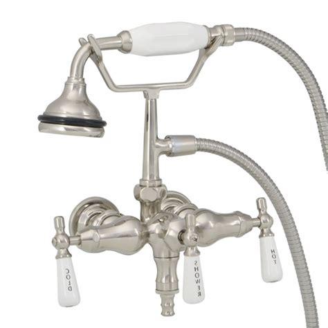 Bathtub Faucet Shower Attachment Faucet For Clawfoot Tub With Shower Attachment Bathtub
