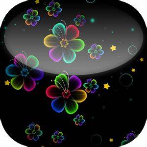 Neon Flowers Live Wallpaper Android Apps on Google Play