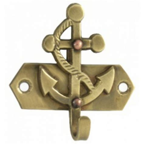 wire wall decor buy solid brass anchor key hook 3 inch sealife decor 1122