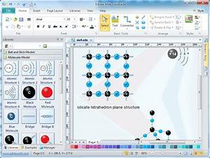 Molecular Model Diagram Software  Free Examples And