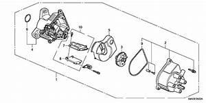 1992 Honda Accord 4 Door Ex Kl 5mt Distributor  Tec