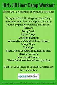 Dirty 30 Boot Camp Workout  U2026