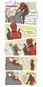 In which Venom is a dog, and Deadpool is Spiderman's ...