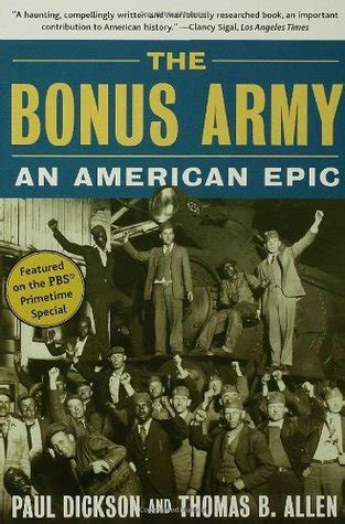 bonus army  american epic  paul dickson reviews discussion bookclubs lists