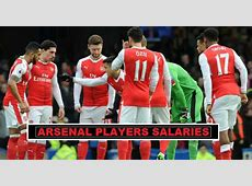 Arsenal Players Salaries 2018 Weekly Wages Revealed