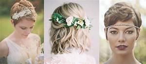 Coiffure Mariage Cheveux Court : coupe de cheveux les 20 plus belles coiffures de mariage ~ Dode.kayakingforconservation.com Idées de Décoration