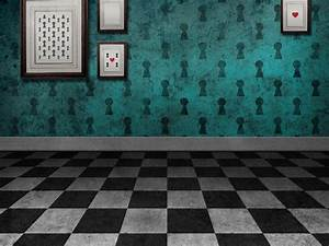 Fantasy Room Background For Photoshop (Brick-And-Wall