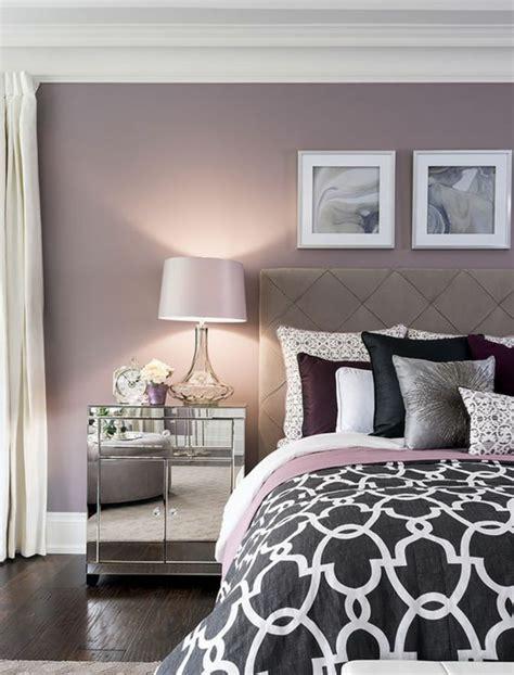 Best Exemple Deco Peinture Chambre Contemporary Design Trends 1001 Idées Pour La Décoration D 39 Une Chambre Gris Et Violet