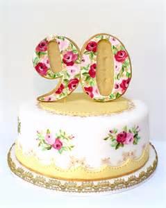 Happy Birthday Cake for 90 Years