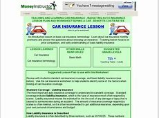 Buying a Car Lesson Plans & Worksheets Lesson Planet