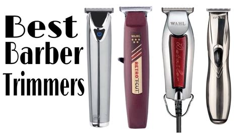barber trimmers professional barber trimmers youtube
