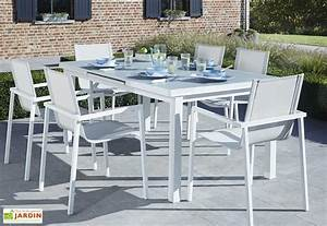 beautiful table salon de jardin alu verre images awesome With good salon jardin aluminium castorama 0 beautiful salon de jardin aluminium verre contemporary