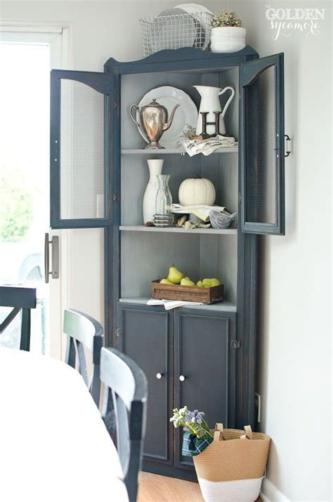 corner hutch cabinet for dining room favorite cupboard from friday favorites www