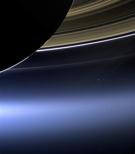 How Cool Nasa Releases Photos Earth Taken From Saturn