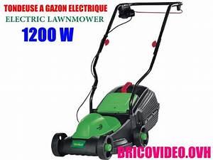 Tondeuse A Gazon Electrique : notice tondeuse a gazon electrique florabest frm 1200 d3 ~ Dailycaller-alerts.com Idées de Décoration