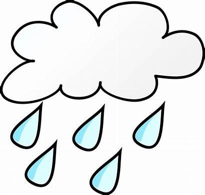 Clipart Regen Rain Weather Symbols Transparent Clipground