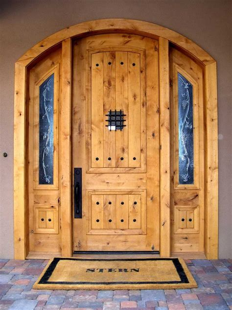 solid exterior wood doors for your house furniture